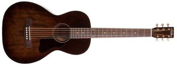 Art & Lutherie Roadhouse Bourbon Burst Electro Acoustic Parlour Guitar - 42395